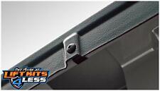 Bushwacker 58503 Matte Blk Smooth back BedRail Cap Pair for 97-01 Dodge/Ram 1500