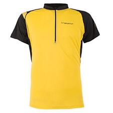 La Sportiva Advance Tee (M) Yellow / Black