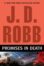 PROMISES IN DEATH HARDCOVER BOOK J D ROBB NORA ROBERTS USED READ ONCE VGC