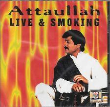 ATTAULLAH KHAN - LIVE & SMOKING - BRAND NEW CD