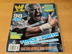 MR. KENNEDY WWE MAGAZINE Wrestling October 2007 Issue Ken Anderson/MVP/Maria+