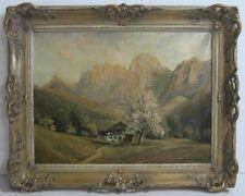 Original Gemälde (1800-1899) mit Landschafts- & Stadt-Motiv direkt vom Künstler
