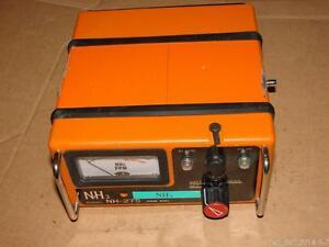 RIKEN KEIKI NH-275 0-150 ppm Portable NH3 Ammonia Gas Detector Pointer Monitor