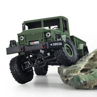 HENG LONG 1/16 2.4G 4WD Off-Road RC Military Truck Rock Crawler Army Car