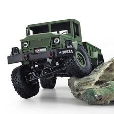 HENG LONG 1/16 2.4G 4WD RC Military Truck Rock Crawler Army Car