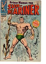 SUB-MARINER #1 (1968) - Grade 5.0 - Origin of Prince Namor!