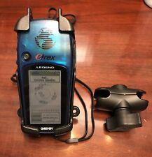 GARMIN ETREX LEGEND Handheld GPS Navigation Bundle & Mounting Bracket EXCELLENT