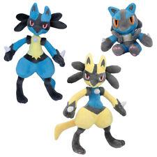 Pokemon Riolu Lucario Figure Plush Soft Doll Stuffed Toy Gift