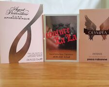 paco rabanne olympea; juicy couture is La and Agent Provocateur 3 x 1.5ml set