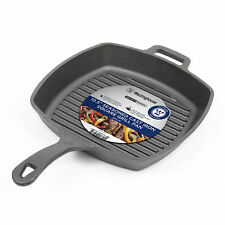 Grill Frying Pan Non Stick Fry Pans Square Cast Iron Cookware Cooking Skillet