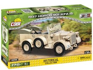 Cobi 2256 - Historical Collection - WWII 1937 Horch 901 (KFZ.15) - New