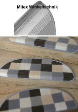 Treppenmatte - Tapis D'Escalier Patchwork Vedette Demi-Cercle 65x23 CM Escalier