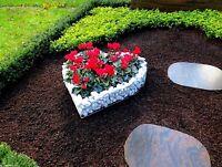 Herz Gitter  Pflanzschale Grabschmuck Grabgestaltung Friedhof Korb Blumentopf