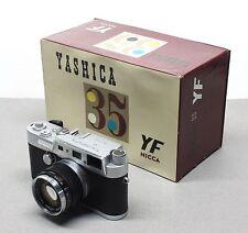 Yashica Nicca YF 35mm Rangefinder Camera w/ Yashinon 5cm f/1.8 M39 Leica SM Lens