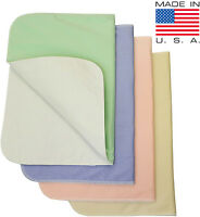 Washable Bed Pads Chair Pads / Incontinence Small Underpad - 18x24 - 4 Pack