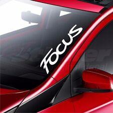 Ford Focus Car Windscreen Sticker Rear Window Bumper Decal