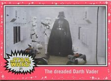 Star Wars JTTFA Neon Parallel Base Card #21 The dreaded Darth Vader