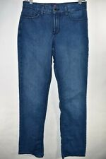 NYDJ Not Your Daughter's Jeans Marilyn Straight Size 8 Stretch Meas. 28x32