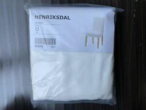 Ikea HENRIKSDAL CHAIR Cover Slipcover GRASBO WHITE 203.366.00