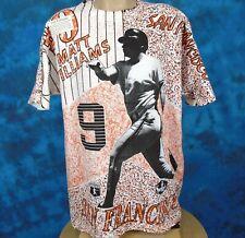 NOS vintage 90s SAN FRANCISCO GIANTS ALL-OVER T-Shirt XL california baseball mlb