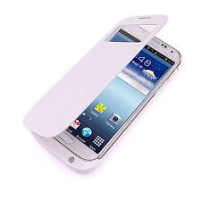 Custodia Batteria Maggiorata 4000mAh per Samsung Galaxy S4 SIV Flip Cover Bianca