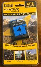 NEW BUSHNELL BACKTRACK Point-3 Handheld GPS Hiking Hunting - Sealed - Fast Ship