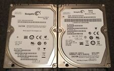"2 Seagate Momentus 5400.6 Drives 500GB & 320GB 2.5"" ST9500325AS, ST9320325AS"