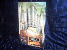 Dedication & Pipe Organ recital brochure St. John's Luth. Ch, New Washington, Oh