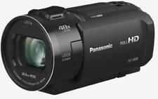 Full HD HDR Camcorder Panasonic HC-V808 EG-K schwarz 24mm Weitwinkel HC-V808