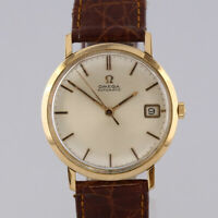 Vintage 18ct Yellow Gold Omega Automatic Gents Wristwatch