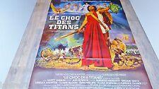 LE CHOC DES TITANS ! ray harryhausen affiche cinema