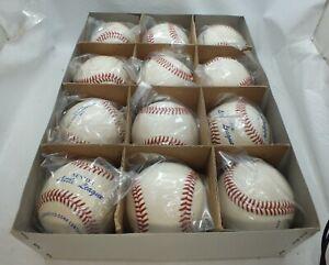Box Of 12 MacGregor 73C Official Baseballs Brand New - RC861