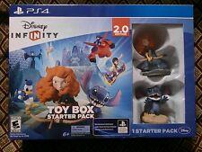 New Disney Infinity 2.0 Toy Box Starter Pack Merida & Stitch PS4 ~ FREE SHIPPING