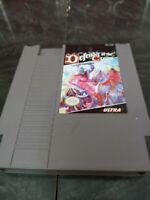 Nintendo Video Game Defender of The Crown NES Cartridge Ultra