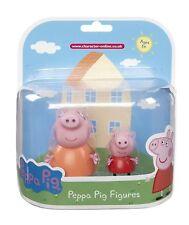 Peppa Pig Twin Figure Pack - Mummy Pig and Peppa