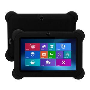Silikon Tablet Hülle Schutzhülle Tasche Case Cover Etui für Q88 7 Zoll SCHWARZ
