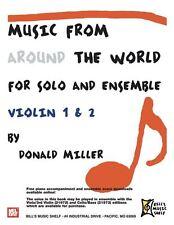 Musique de partout dans le monde-Solo & Ensemble
