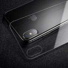 Rückseite Displayschutzfolie für iPhone X Panzerglas Echtglas Für iPhoneX