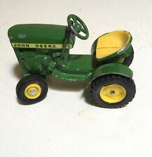 John Deere 110 lawn tractor VINTAGE Ertl Toy 1/16 Original