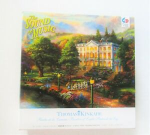 Thomas Kinkade The Sound Of Music Puzzle 1000 Pieces Painter Of Light NEW Sealed