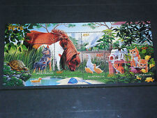 AUST 1996 PETS STAMP COLLECTING MINATURE SHEET  VERY FINE M/N/H