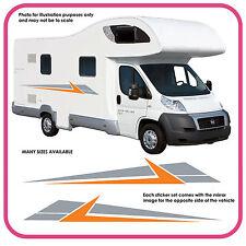 Camping-Car Vinyle Graphiques Autocollants Camping-Car Rv Caravane Box mh3a