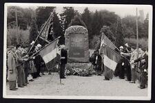 █ Carte Photo SEPPOIS-LE-BAS 68 Cérémonie Monument du Groupe Mobile d'Alsace GMA