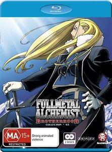 Fullmetal Alchemist - Brotherhood: Collection 3 : Eps 27-39 (Blu-ray) NEW/SEALED