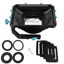 FOTGA DP3000 DSLR swing away matte box w/ sunshade board donut rotatable filter