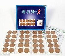 Silver Plated Magnet Round Patch Magnetic Dot Needle Acupuncture 2Box  SM Gilwoo