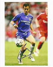 Genuine Hand Signed Autograph Photo Photograph CHELSEA FC Joe Cole 10 x 8""