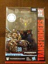 Transformers Studio Series Voyager Class #9 THUNDERCRACKER Figure Hasbro Opened