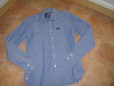 SUPERDRY MENS SHIRT,SIZE L,100 % COTTON,G/C,DESIGNER MENS SHIRT/TOP,FREE UK POST