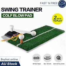 3 in 1 Golf Swing Driving Practice Mat Training Aids Tool Indoor Outdoor Trainer